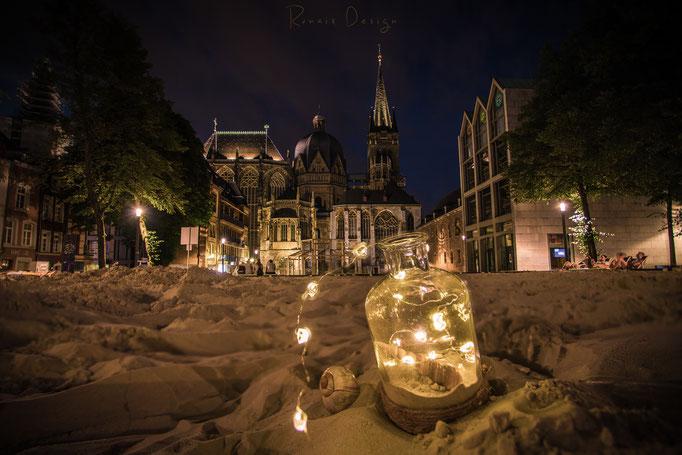 #55 Aachener Katschhof mit dem Archimedischen Sandkasten