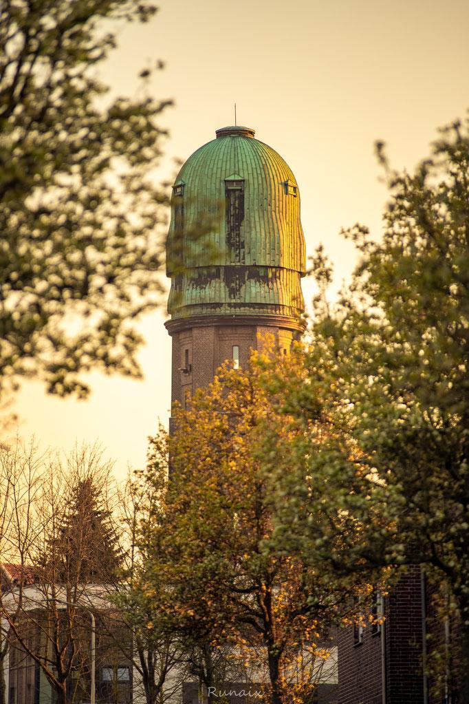 W96 - Wasserturm Frühling