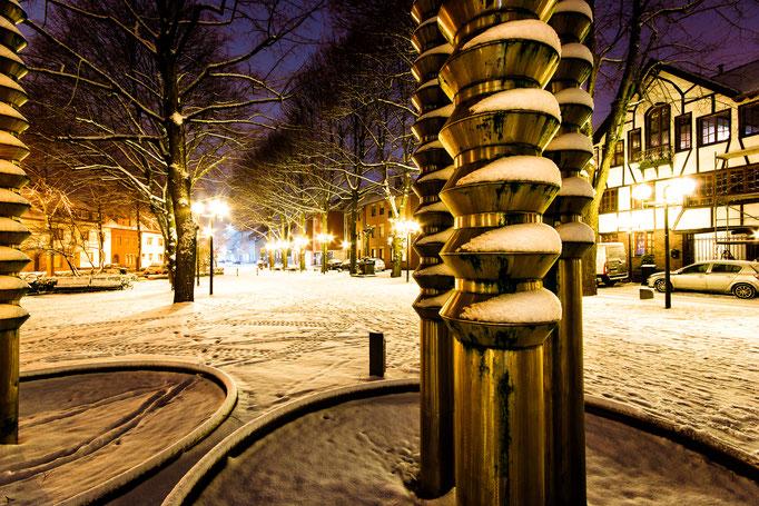 W24 - Lindenplatz im Winter