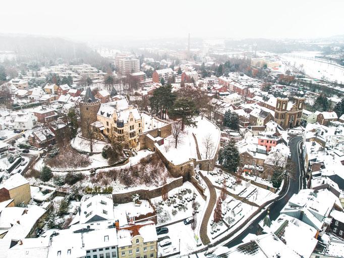 Herzogenrath im Winter