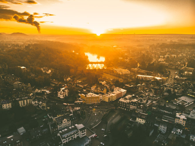 Herzogenrather Sonnenaufgang