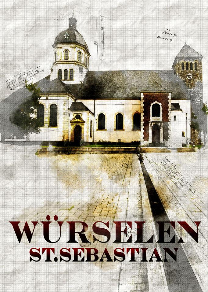 W7 - Kirche St.Sebastian Würselen