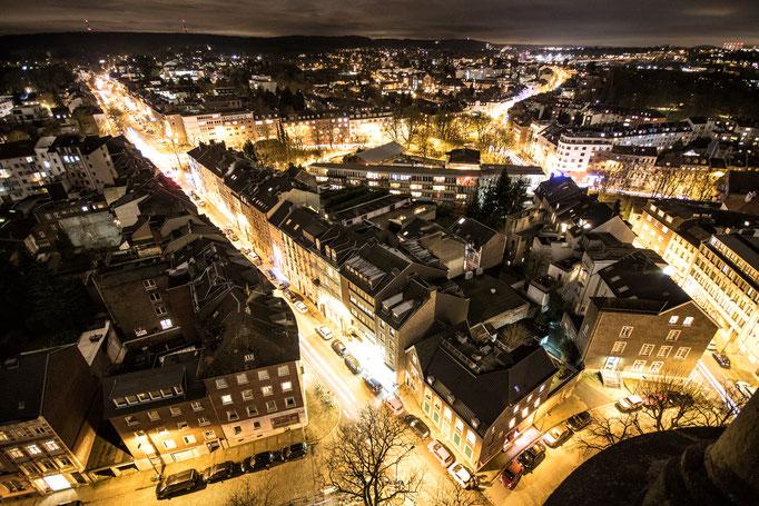 Aachen von St.Jakob aus gesehen.