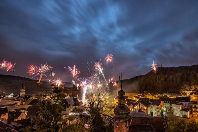 Feuerwerk in Gemünd