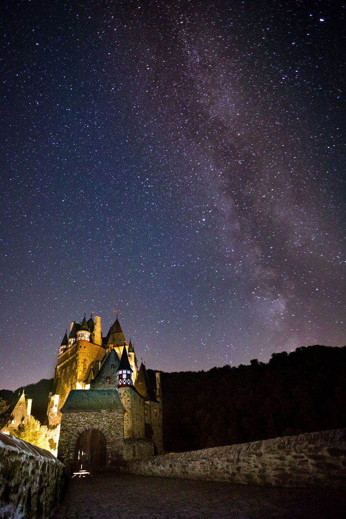 Burg Eltz Milky Way