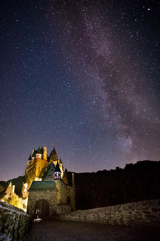 Burg Eltz Milky Way