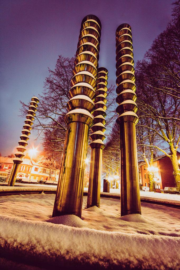 W14 - Lindenplatz im Winter