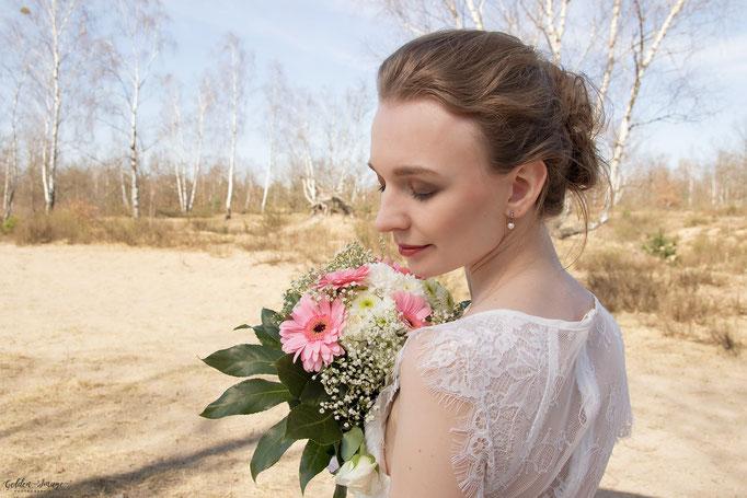 Die Braut- Brautstyling