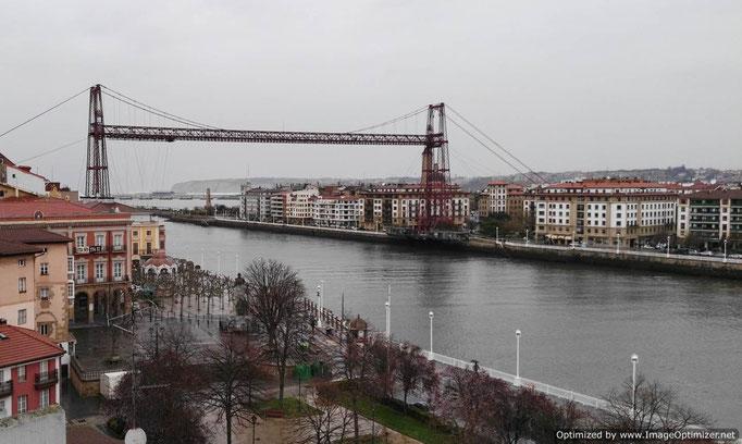 Puente Colgante o Bizkaia Zubia.