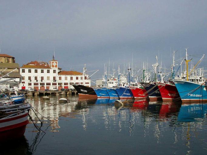 Puerto de Bermeo.