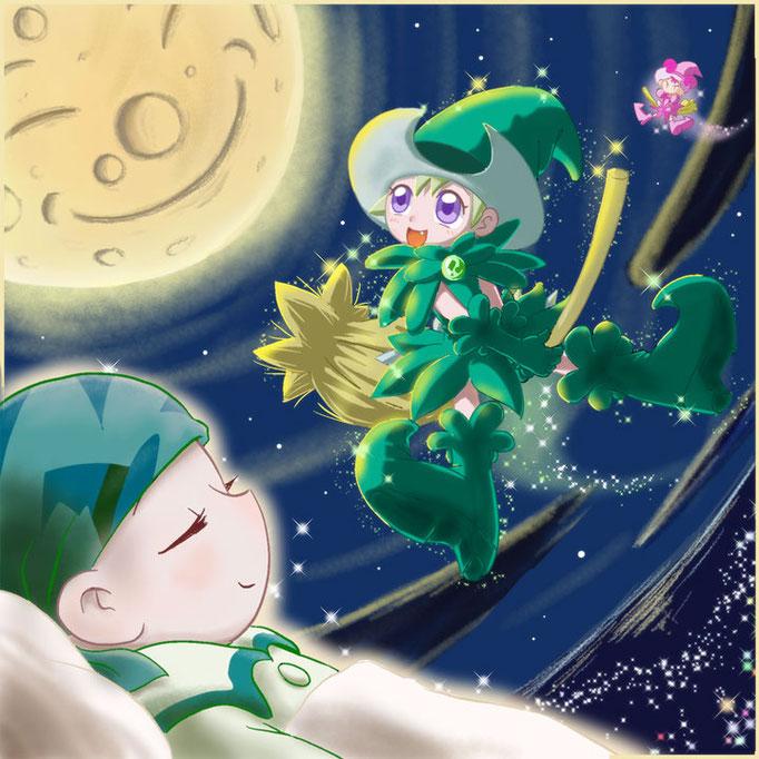 【のんちゃんの夢】「おジャ魔女どれみ ナ・イ・ショ」第12話『7人目の魔女見習い ~のんちゃんのないしょ~』 から。私の心に突き刺さったアニメの中の、一つです。
