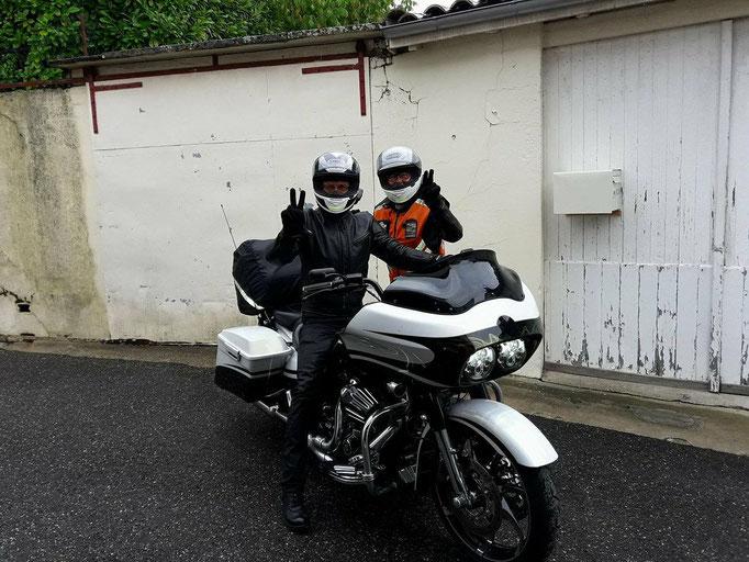 accueil relais motard à La Réole 33