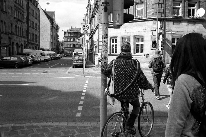 Nuremberg streets - captured with the beatiful Leica M6