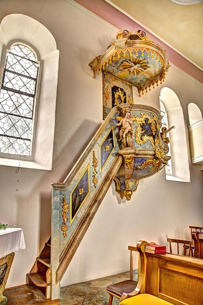 Regen Heilig Geist Kirche Empore