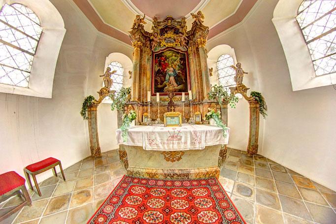 Regen Heilig Geist Kirche Altar