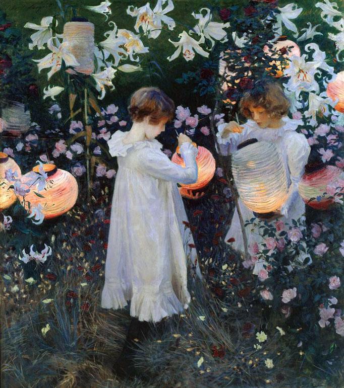John Singer Sargent: Carnation Lily Lily Rose
