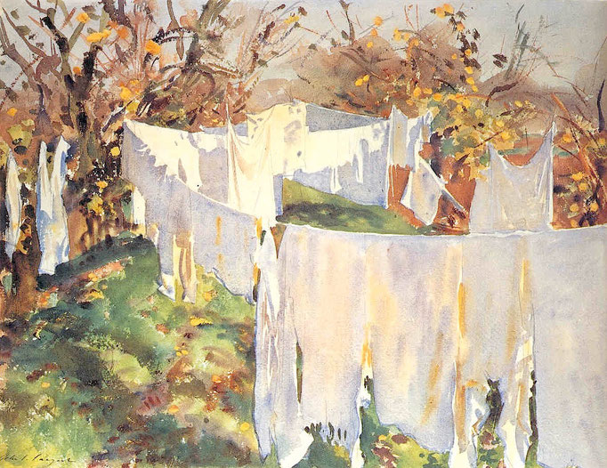 John Singer Sargent: The washing line