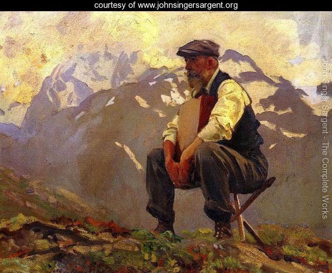 John Singer Sargent: Reconoitering