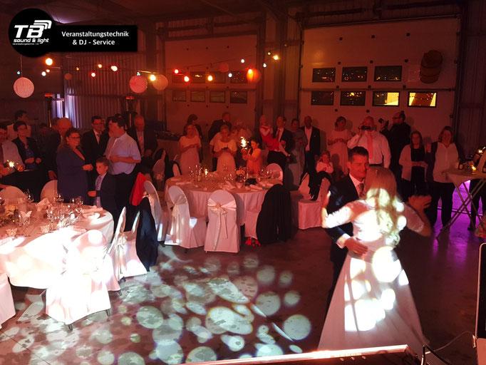 XXL Hochzeit in Bornheim, Merten - Hochzeits DJ + umfangreiche Ton- & Lichttechnik