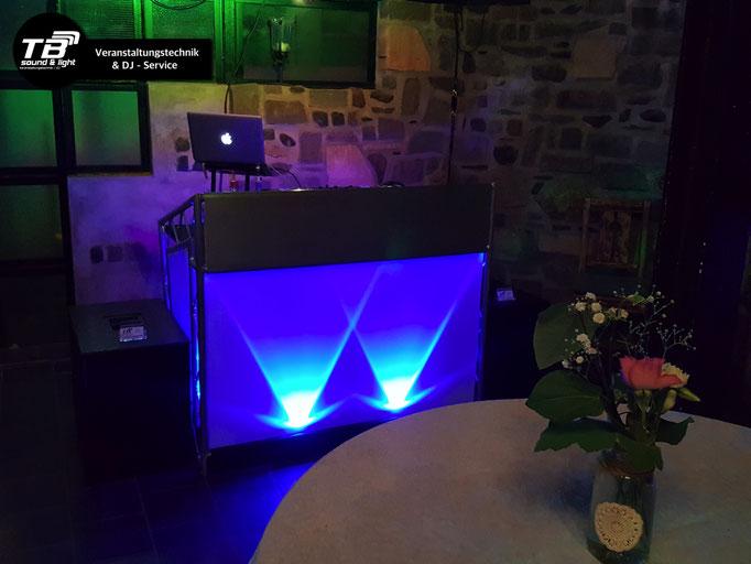 """Hochzeits DJ im Garten-Café """"Der Garten"""" in Wissen (Sieg)"""