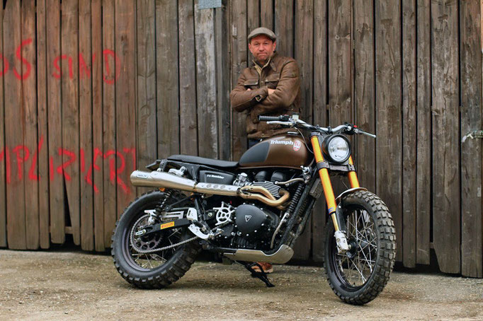 Triumph Scrambler - the Rumbler