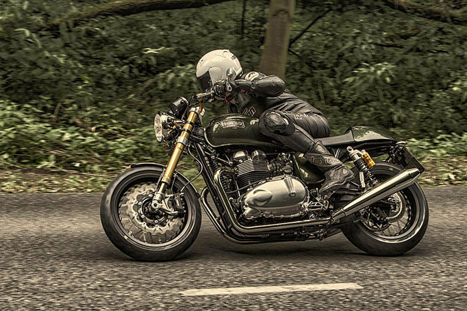 Triumph Thruxton Mr. Hudson - Cafe Racer by LSL