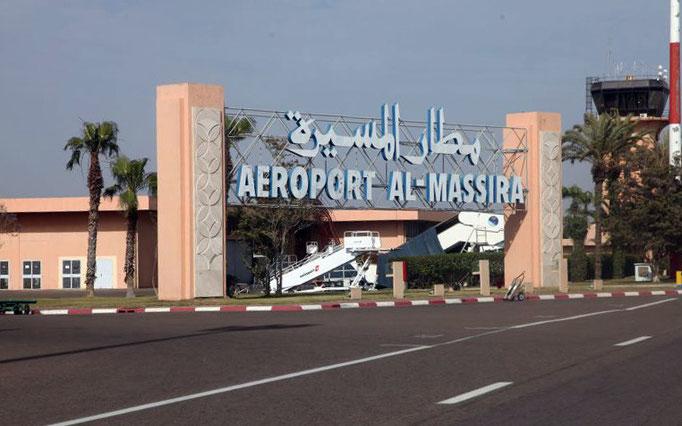 Flughafen Al Massira.