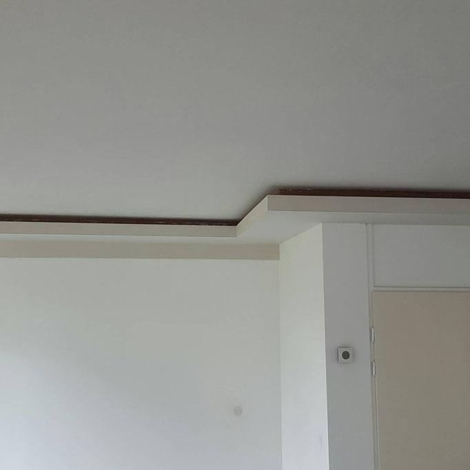 Verlaagd plafond met optie voor indirect licht