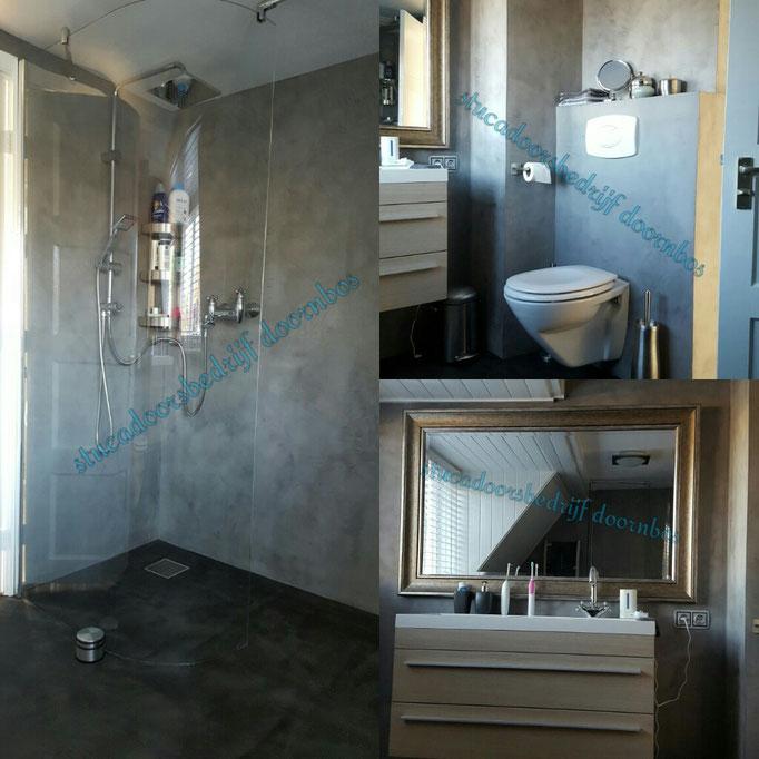 Badkamer volledig in de beal mortex