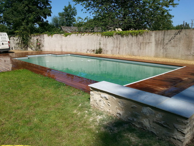 Terrasse bois en ipé