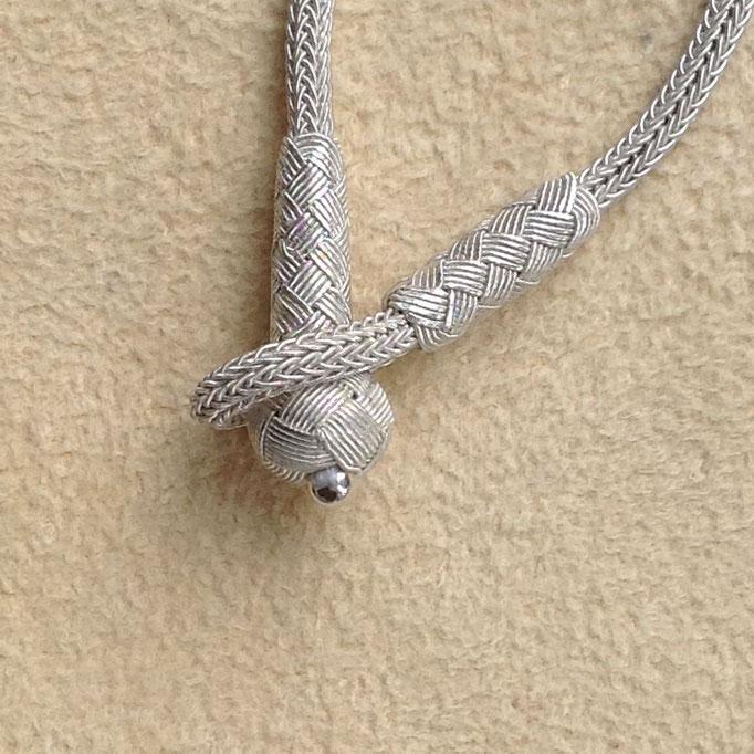 Unterschiedliche Verschlüsse/Different Closures: Knebel- Verschluss mit Knoten Perlen leichten anlegen, i-must-have.it