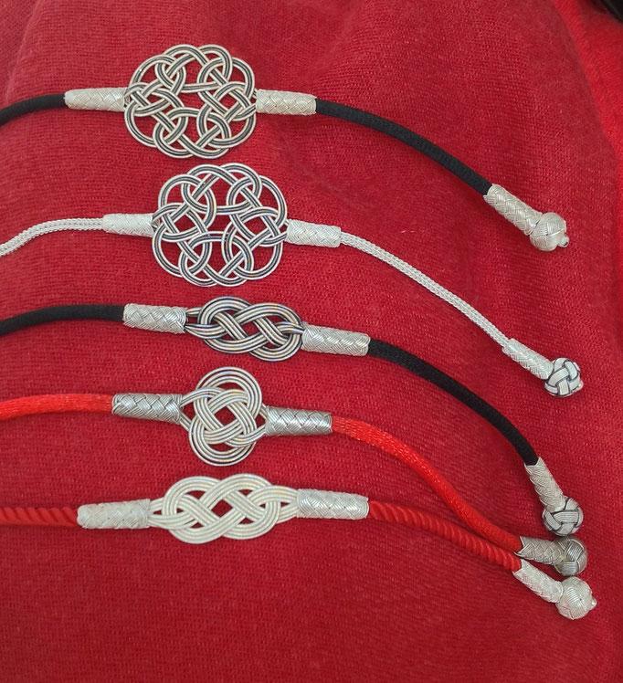Unterschiedliche Knoten/Different Knots: große Endlosknoten, Infinity, einfache Knoten, i-must-have.it