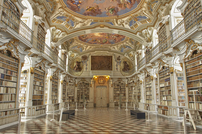 Stiftsbibliothek Stift Admont © c.rebl