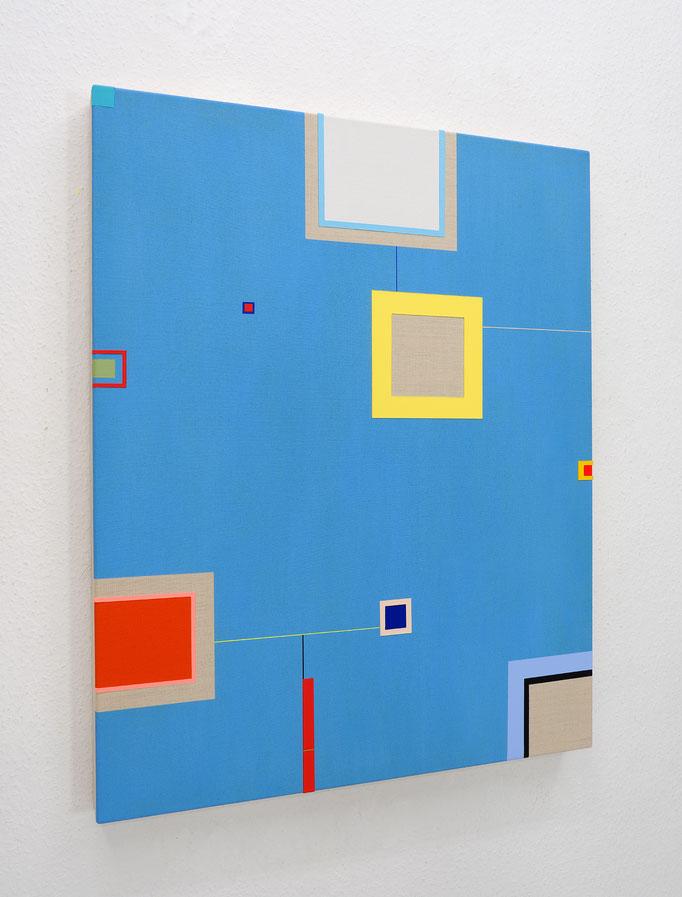 Richard Schur, After the Rain, 2017, acrylic on canvas, 100 x 80 cm / 39 x 31 inch