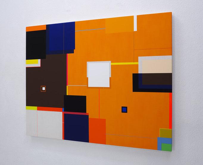 Richard Schur, The Sound of Light, 2018, acrylic on canvas, 110 x 140 cm / 43 x 55 inch