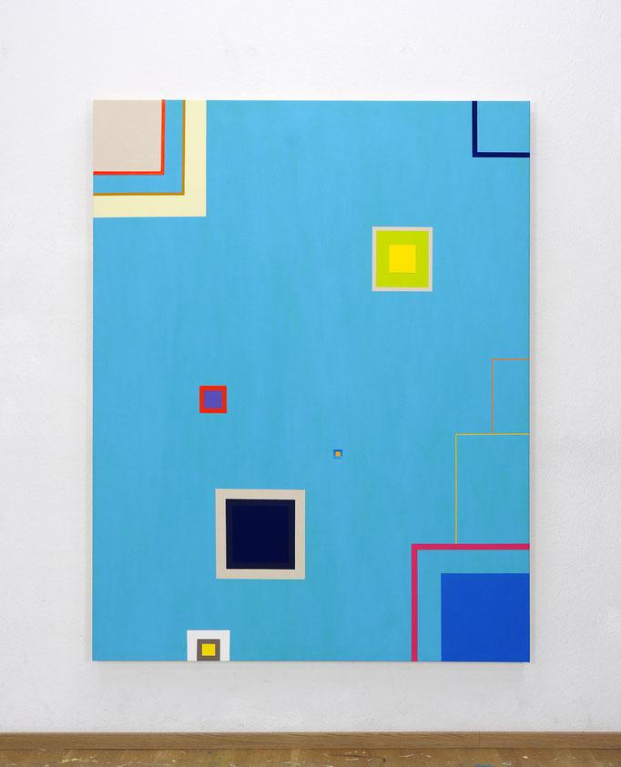 Richard Schur, Air, 2017, acrylic on canvas,  180 x 140 cm / 71 x 55 inch