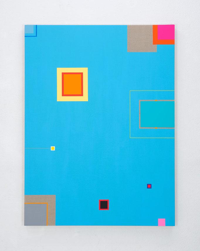 Richard Schur, Silent Ocean, 2017, acrylic on canvas, 160 x 120 cm / 63 x 47 inch