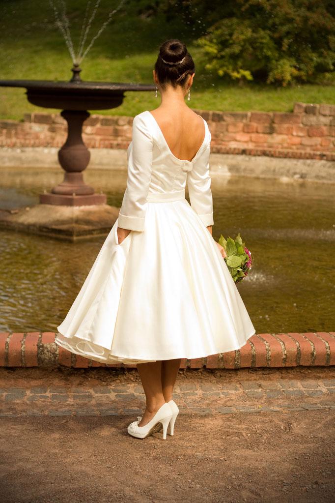 50er Jahre Brautkleid Alice