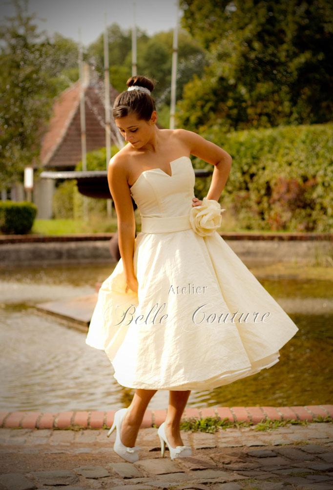 elegantes 50er Jahre Brautkleid Genevieve