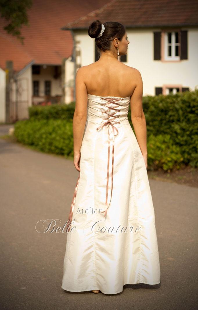 bodenlanges A-Linien Brautkleid Amelie