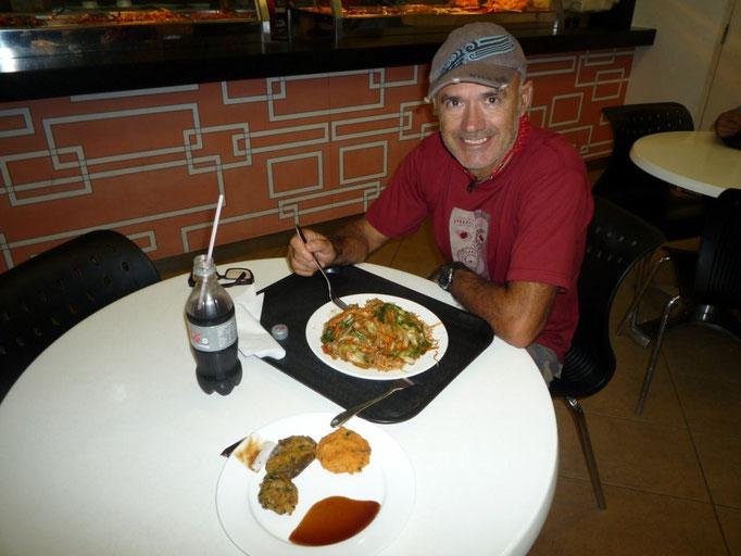 Patio de comidas del centro comercial de Suva