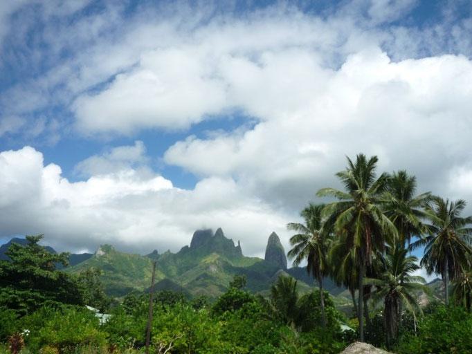 Los espectaculares paisajes de Ua Pou