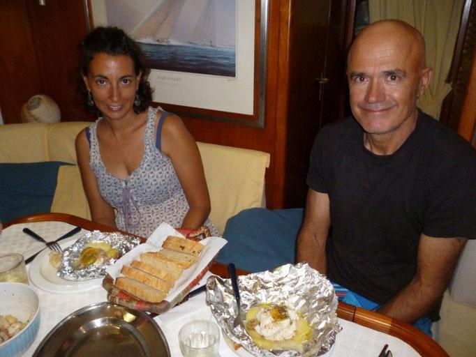 Sabri cocina de fábula, donde haya comida mediterránea...