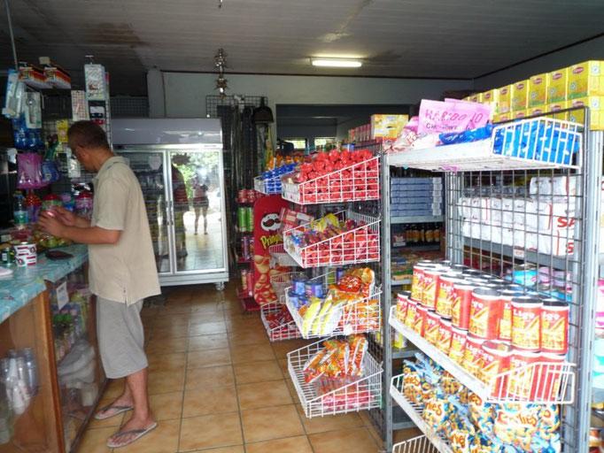 Una de las tiendas de comestibles
