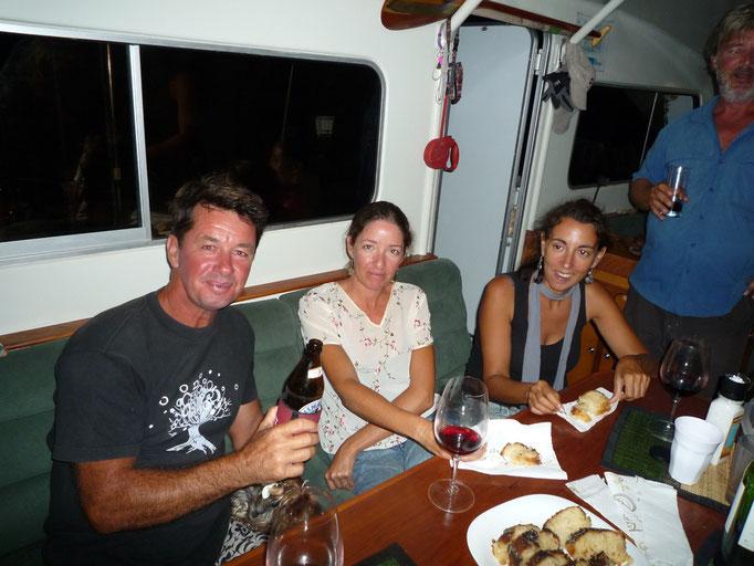 Russell, kathy y Virgi en el Segue
