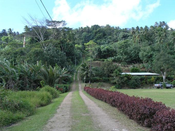 Pequeñas cuestas en los alrededores de le village