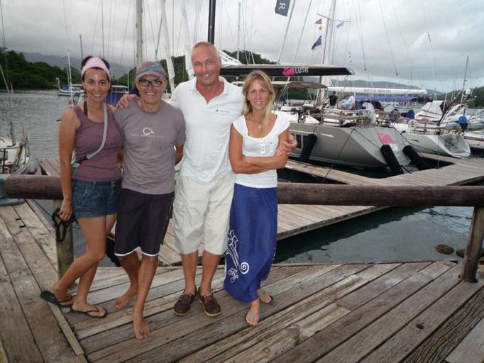 Con Kari y Helena del Merilelu