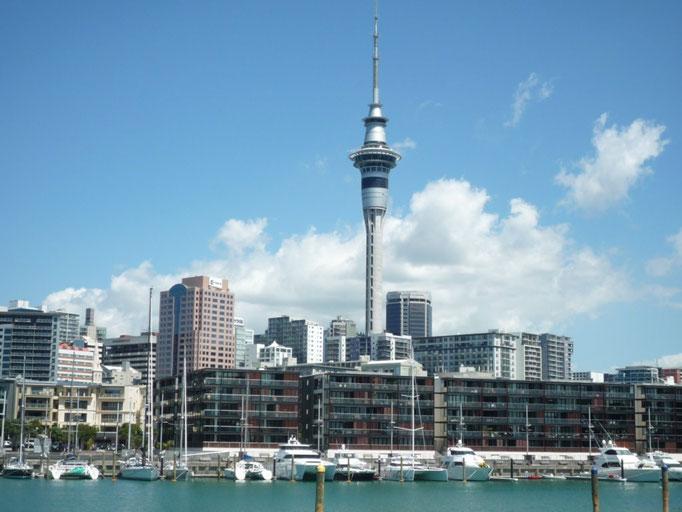 El Sky Tower, el imponente símbolo de la City
