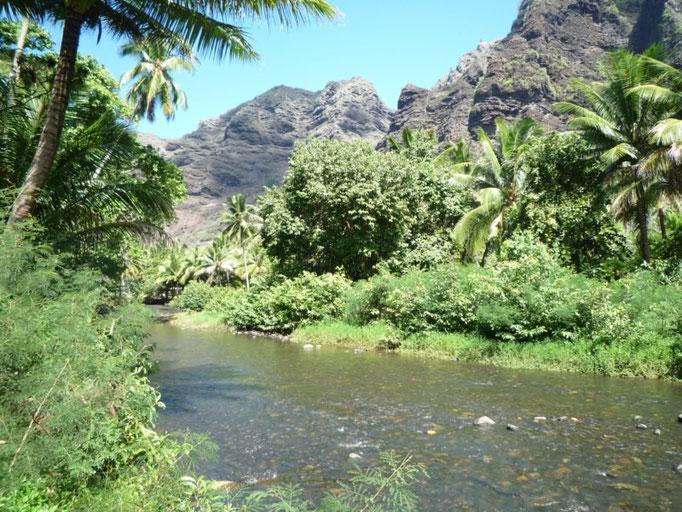 El río, una gran fuente para el pueblo