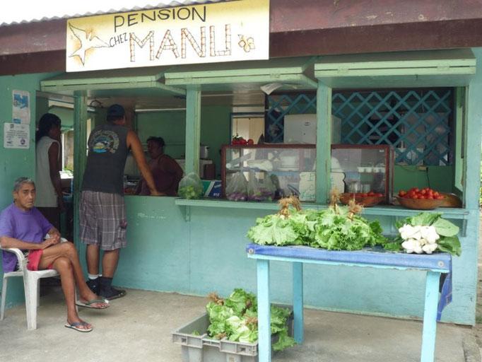 Chez Manu, verduritas frescas!